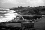 San Juan from El Morro Fort in Black & White, San Juan, Puerto Rico