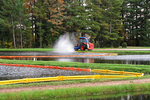 Cranberry Booms during Harvest, Wisconsin Rapids, Wisconsin