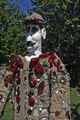 Fred Smith Concrete Park Statue, Phillips, Wisconsin