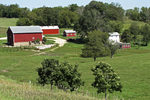 Farm in the Valley, Driftless area, Southwestern Wisconsin
