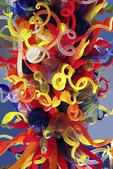 Colored Glass Sculpture, Milwaukee Art Museum, Milwaukee, Wisconsin