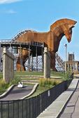 Trojan Horse Track, Mt. Olympus Theme Park, Wisconsin Dells, Wisconsin