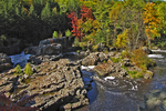 Dells of the Eau Claire River in Fall, Wausau, Wisconsin