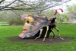Big Bug at the Gardens, Boerner Botanical Gardens, Milwaukee, Wisconsin