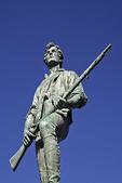 Minuteman Soldier with Rifle Statue, Lexington, Massachusetts