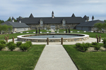 King's Grand Courtyard, Castle Farms, Charlevoix, Michigan