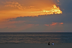 Beach at Sunset, Holland State Park, Holland, Michigan