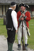 English Soldier and Doctor, Fort Michilimackinac, Mackinaw City, Michigan