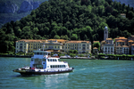 Car Ferry to Bellagio, Lake Como, Tuscany, Italy