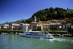 Ferry Boat on Lake Como, Bellagio, Tuscany, Italy
