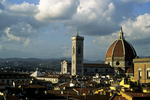 Duomo from Torre Guelfa, Florence, Italy