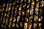 Stained Glass Window, Duomo (Cathedral), Florence, Italy