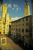 San Gimignano Square, San Gimignano, Italy