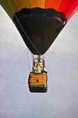 People in Hot Air Balloon Basket, Seymour, Wisconsin