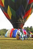 Hot Air Balloon Lift Off, Seymour, Wisconsin
