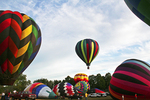 Hot Air Balloons Ready to Fly, Seymour, Wisconsin