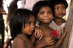 Local village children in Siem Reap, Cambodia