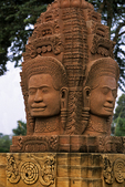 Temple Faces, Angkor Wat, Siem Reap, Cambodia