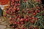 Onions in Market in Taroudant, Morocco