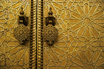 Royal Palace Door Knobs, Fes, Morocco