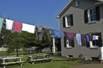 Amish Laundry on the Line, Lancaster County, Pennsylvania