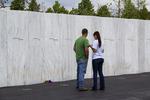 Wall of Names Flight 93 Memorial, Stoystown, Somerset County, Pennsylvania