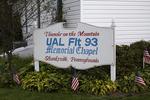 Chapel Sign UAL Flight 93, Shanksville, Somerset County, Pennsylvania
