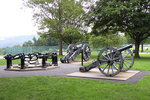 Trophy Point British Canons and Great Chain, West Point Military Academy, West Point, New York