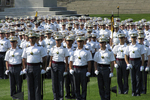 Acceptance Day Parade Platoons, West Point Military Academy, West Point, New York