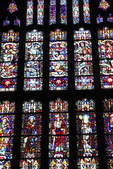 Cadet Chapel Stained Glass Window, West Point Military Academy, West Point, New York