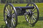 Fist NV Canon on Battlefield, Gettysburg National Military Park, Gettysburg, Pennsylvania
