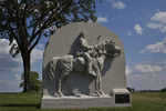 17th Pennsylvania Calvary Monument on Battlefield, Gettysburg National Military Park, Gettysburg, Pennsylvania