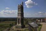 Little Round Top Site on Battlefield, Gettysburg National Military Park, Gettysburg, Pennsylvania