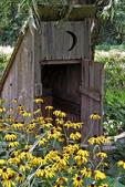 Outhouse in Garden, Mister Ed's Elephant Museum, Orrtanna, Adams County, Pennsylvania