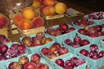 Fruit for Sale at the Round Barn, Biglerville, Lincoln Highway, Pennsylvania