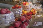 Fruit for Sale, Round Barn, Biglerville, Lincoln Highway, Pennsylvania