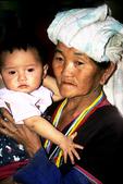 Mother and child, White Karen Village, Northern Thailand
