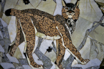 Inlay Animal Mosaic, Conference Hall House of Receptions, Khabarosk, Russia