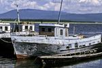 Fishing Boats, Lake Baikal, Siberia, Russia