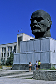 Head of Lenin in Square of Soviet Councils, Ulan Ude, Siberia, Russia