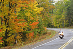 Fall Color & Motorcycle, Northern Wisconsin