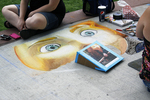 Chalkfest and Artists, Wausau, Wisconsin