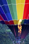 Hot Air Balloon With Gas, Balloon Rally, Seymour, Wisconsin