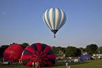 Hot Air Balloon Rally, Seymour, Wisconsin