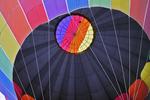 Inside the Hot Air Balloon, Balloon Rally, Seymour, Wisconsin
