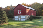 """A Diamond Field"" Barn Quilt, #78, Shiocton, Shawano County, Wisconsin"