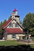 Eagle Bluff Lighthouse, Peninsula Park, Fish Creek, Door County, Wisconsin