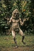 Mud Man of Waghi Valley, Papua New Guinea