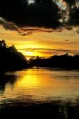 Sunset on the Sepik River, Papua New Guinea