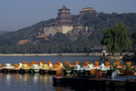 Summer Palace with Boats, Beijing, China